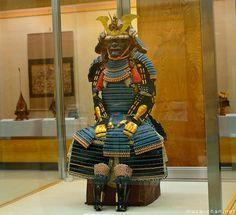 Samurai armor, Fukuyama Castle, Fukuyama