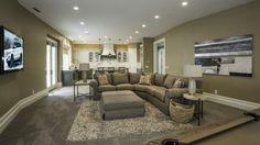 Lane Myers Construction Custom Home Builder Loeffler Residence Draper Utah Versailles Inspired Living Room