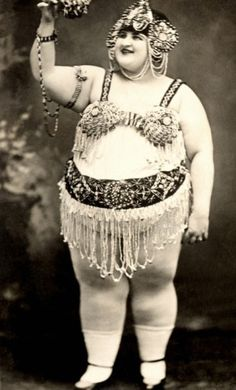 Vintage Picture of Flapper Girl -Dangerous Curves Ahead