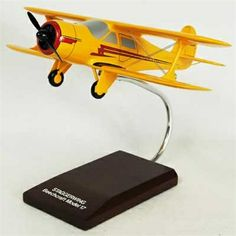G-17 Staggerwing - Premium Wood Designs #Civilian #Aircraft premiumwooddesign...
