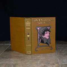"""1st edition copy of """"A Puritan Witch"""", printed in 1903. This copy is from the personal library of Governor Chase S. Osborn - an important and interesting historical figure. His book stamp is affixed to the inner cover.  Osborn was a newspaper magnate and he served a Governor of Michigan from 1911-1913. He was a world traveler, claiming to have visited every state in every country of the world and authoring several famous books about exotic places and his adventures."""