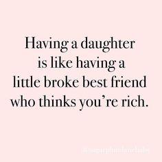 funny quotes for women / funny quotes ` funny quotes laughing so hard ` funny quotes sarcasm ` funny quotes about life ` funny quotes for women ` funny quotes to live by ` funny quotes in hindi ` funny quotes about life humor Daughter Love Quotes, Son Quotes, Funny Mom Quotes, Quotes To Live By, To My Daughter, Laugh Quotes, Child Quotes, Funny Quotes About Kids, Quotes About Daughters