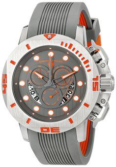 Swiss Legend Men's 10538S-014-OA Scubador Analog Display Swiss Quartz Grey Watch