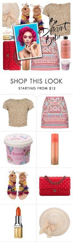 """""""it's the summer thing"""" by soyance ❤ liked on Polyvore featuring Alice + Olivia, Accessorize, Cloud 9, Elina Linardaki, Chanel, Elizabeth Arden and Summer"""