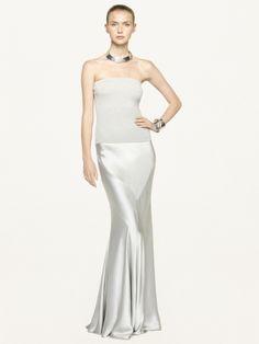 Silk Charmeuse Octavia Skirt - New Fall Arrivals   Women - RalphLauren.com