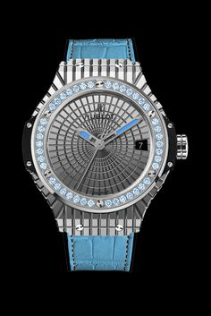 """HUBLOT """"LADY 305"""" - INSPIRED BY THE MIAMI SKY, SAND, AND THE SEA watch - Presentwatch.com"""