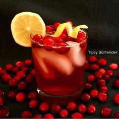 Whiskey Sour with Cranberries?  Yes Please!  For the recipe, visit us here: http://www.tipsybartender.com/blog/cranberry-whiskey-sour