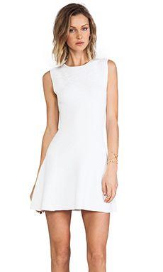 Theory Nikayla Dress in White | REVOLVE