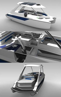The Infinyte Marine I8 is a Fully Sustainable Boat #eco #vehicles trendhunter.com