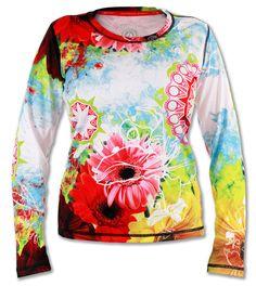 Women's Wildflower Long Sleeve Tech Shirt