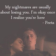 Peeta and Katniss-The Hunger Games