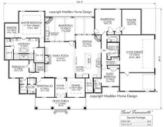 Madden Home Design   Acadian House Plans, French Country House Plans Part 98