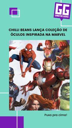 Óculos de sol, relógios e óculos de grau inspirados nos personagens mais queridos da Marvel! Geeks, Geek Stuff, Marvel, Movies, Movie Posters, Art, Girls Girls Girls, Geek Things, Art Background