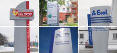 Konstrukcje reklamowe, pylony reklamowe, pylon reklamowy, Graffico, totem, totemy, pylon cenowy, pylony cenowe, pylon obrotowy, pylony obrotowe, słup reklamowy, słupy reklamowe, billboard, billboardy, producent reklam wielkogabarytowych, megaboard, megaboardy, Signage manufacturer, illuminated signage, signs assembly, montaż produkcja reklam, producent reklam, Graffico, pylon signage, 3D  signs, freestanding signs, channel letters, illuminated letters, illuminated pylons