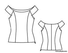 free pattern, топы, выкройка топа, pattern sewing, выкройки скачать, шитье…