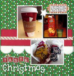 The Taste of Christmas - Scrapbook.com