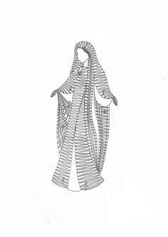 Podvinek 002 Lace Art, Bobbin Lace Patterns, Lace Jewelry, Lace Embroidery, Outlines, Madonna, Lace Detail, Aurora Sleeping Beauty, Crochet