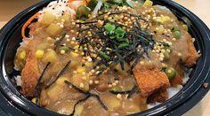 Deep-fried Spam musubi is back on Oahu Korean Braised Short Ribs, Kalbi Ribs, Fried Spam, Ahi Tuna Poke, Chicken Katsu Curry, Spam Musubi, Loco Moco, Tempura Batter, Plate Lunch