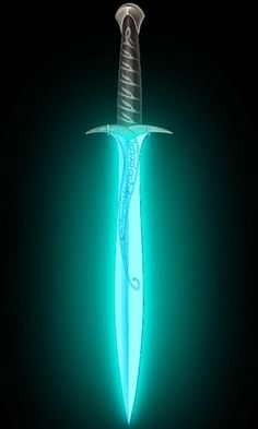 Glowing White Sword