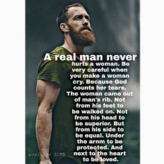 21 So the LORD God caused a deep sleep to fall upon the man, and while he slept took one of his ribs and closed up its place with flesh; Wise Quotes, Great Quotes, Words Quotes, Quotes To Live By, Motivational Quotes, Inspirational Quotes, Real Men Quotes, Sayings, Shining Tears