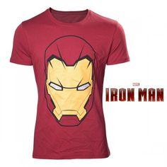 T-Shirt Masque Iron Man Marvel. Kas Design, Distributeurs de produits originaux