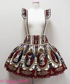 Angelic Pretty Chess Emblem Skirt