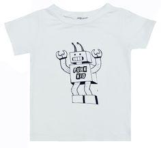 Jagged Culture Robot Punk Kid Tee