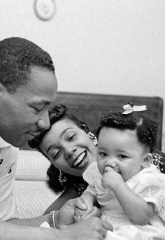 Dr. King & family