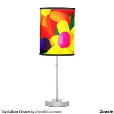 Toy Balloon Flowers Table Lamp