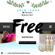FREE SHIPPING On all orders site wide!!! Dont miss out on this exclusive event visit our site and begin your journey to flawlessness today  Www.naturallyflaw... . . . #naturallyflawlessskincare #naturallyflawless #natural #naturalista #naturalskincare #naturalskincareproducts #beauty #clearskin #skincare #smoothskin #flawlessskin #skin #forhimandher #free #freeshipping #natural #gogreen #newproducts #naturalcleanser #naturaltoner #naturalmoisturizer #skinisin