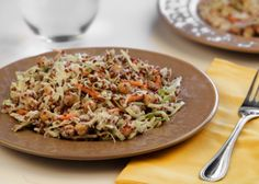 Toasted Quinoa and Cabbage Salad - Recipes for Healthy Living by the American Diabetes Association®
