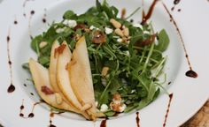 I came across a recipe on CookingLight.com for a grilled peach salad that is to die for! The spicy nuances of the arugula pairs perfectly with the sweetness of the balsamic dressing. I can't claim this recipe as my own, except that I changed the peaches to pears and added pine nuts. Here's the link... Read more »