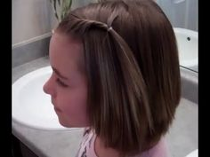 Front Twist Ponytail for Short Hairstyles and Bangs