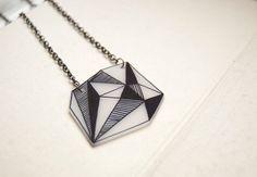 original drawing necklace —I have shrink plastic