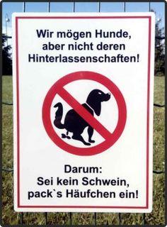Vorlage Verbotsschild kein Hundeklo | Schilder-Hinweis bei ...