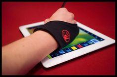 The Hand Glider, Tablet Glove, iPad glove,