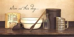 Give Us This Day by Susie Boyer art print