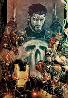 Punisher and the Avengers