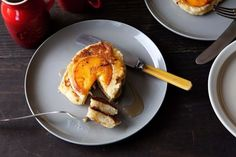 Caramelized Peach Pancakes on Food52