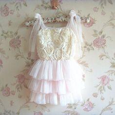 Rosette Tutu Dress — Lulu and Lavender