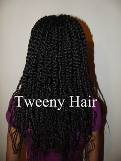 Tweeny Hair: Twists to Twists, Still No Comb