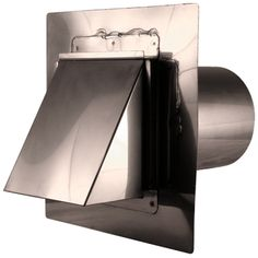 Dryer Vent - Stainless Steel - Stucco Mount