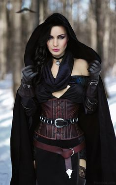 Yennefer da vida real: Cosplayer russa dá vida à personagem (The Witcher 3)