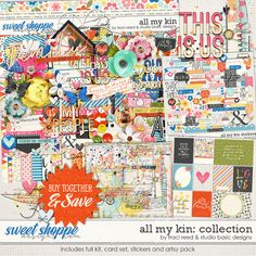 All My Kin Collection by Studio Basic and Traci Reed http://www.sweetshoppedesigns.com/sweetshoppe/product.php?productid=38557&cat=985&page=1