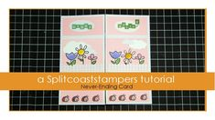Never-Ending Card Tutorial - Splitcoaststampers Fun Fold Cards, Pop Up Cards, Love Cards, Folded Cards, Card Making Tips, Making Ideas, Birthday Card Design, Birthday Cards, Infinity Card