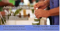 There are many layers and pathways for detox and body cleanse. When fasting our body starts to detox naturally. With added procedures, we can get up to 400% of toxin removal. These may include skin brushing, Yoga breathing exercises, green juice, supplements, spices, minerals, colonic hydrotherapy or bodywork. #treeoflifeisrael #drcousensglobal