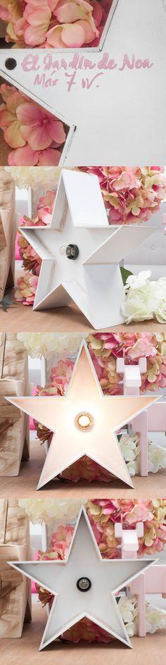 Estrella luminosa blanca #Lightbox