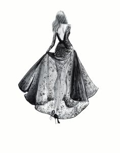 elie saab fashion sketches - Buscar con Google
