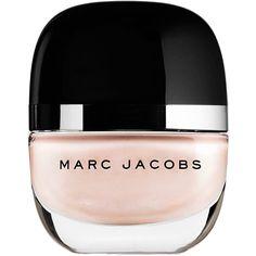 Marc Jacobs Beauty Enamored Hi-Shine Nail Lacquer (24 CAD) ❤ liked on Polyvore featuring beauty products, nail care, nail polish, makeup, beauty, nails, fillers, shiny nail polish, cream nail polish and glitter nail polish