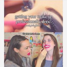 Miranda sings!! This was one of my very favorite videos! But it was done on the other girls channel and it was about relationship advice!:D watch it!